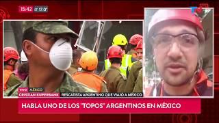 El Argentino Que Viajó Para Rescatar Víctimas Del Terremoto