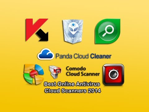 Best Online Antivirus Cloud Scanners 2014