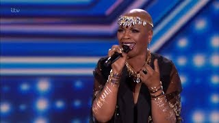 The X Factor UK 2018 Janice Robinson Six Chair Challenge Full Clip S15E10