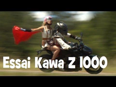 ESSAI Z 1000 ► LA PLUS MANGA DES KAWA ► lolo cochet moto