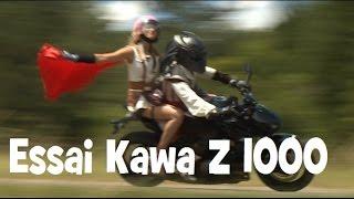Essai Kawasaki Z 1000  by Lolo LA PLUS MANGA DES KAWA
