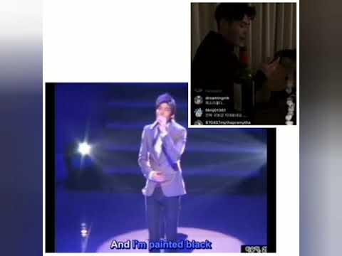 "Coincidence!!! Lee Minho & Kim Goeun singing ""Falling Slowly"""
