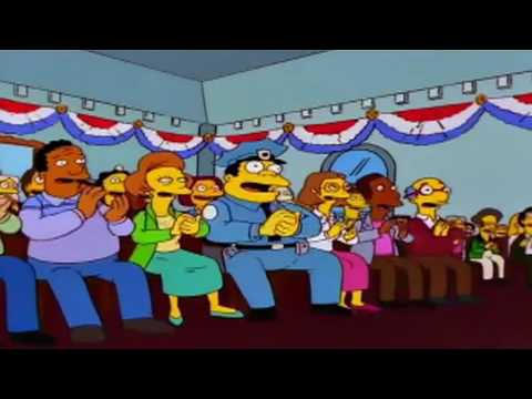 Omar n les Simpsons et les elections Tinghir   عمر و الانتخابات