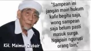 KH  Maimun Zubair Cium Tangan KH  Hasyim Muzadi