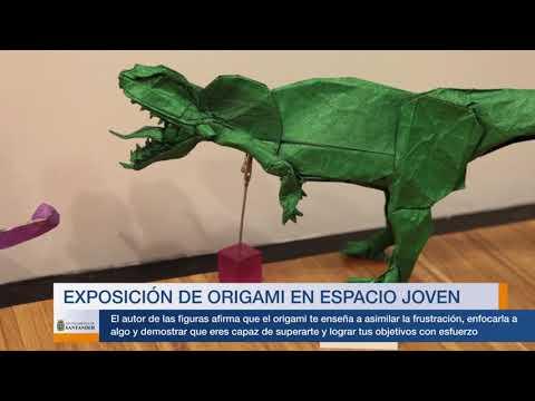 Exposición de Origami en Espacio Joven