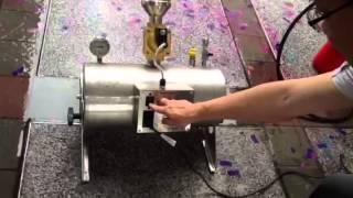 Using confetti cannon