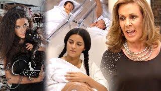 La Gata - Capítulo 13: ¡Esmeralda da a luz a gemelos! | Tlnovelas