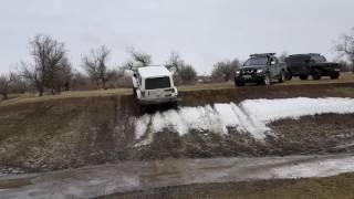 Off Road Одесса - Куяльник. Джиперы на отдыхе. Февраль 2017г.