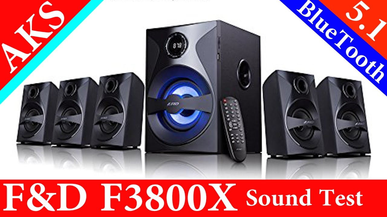 Philips Home Theatre SPA8000B 5.1 Unboxing & Sound Test by AKS - YouTube
