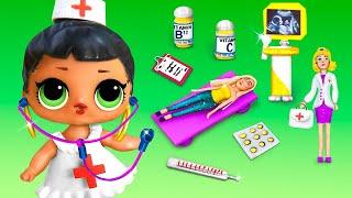 12 Miniature Dolls for LOL OMG and Barbie  Micro Hospital
