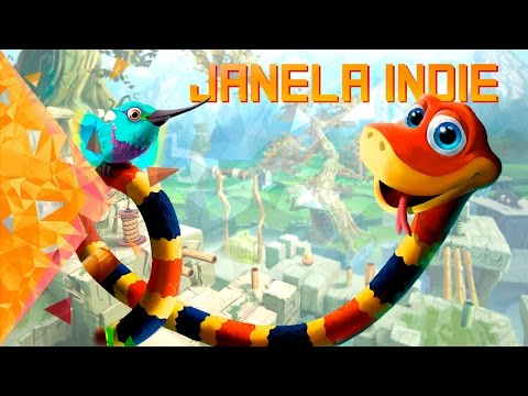 Conheça Snake Pass - Janela Indie #39