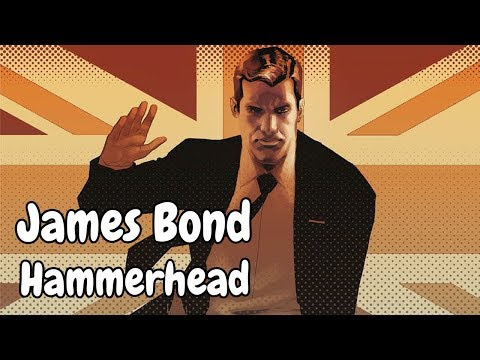 Komiksové bubliny - James Bond: Hammerhead