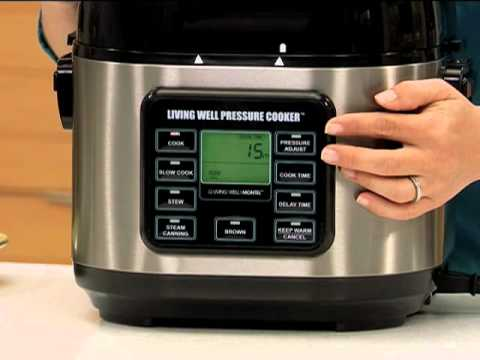 Living Well Pressure Cooker - Part 3 : Cooking - YouTube