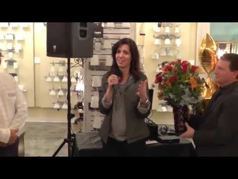 Eatontown Grand Re-opening Lisa Angelillo Honor
