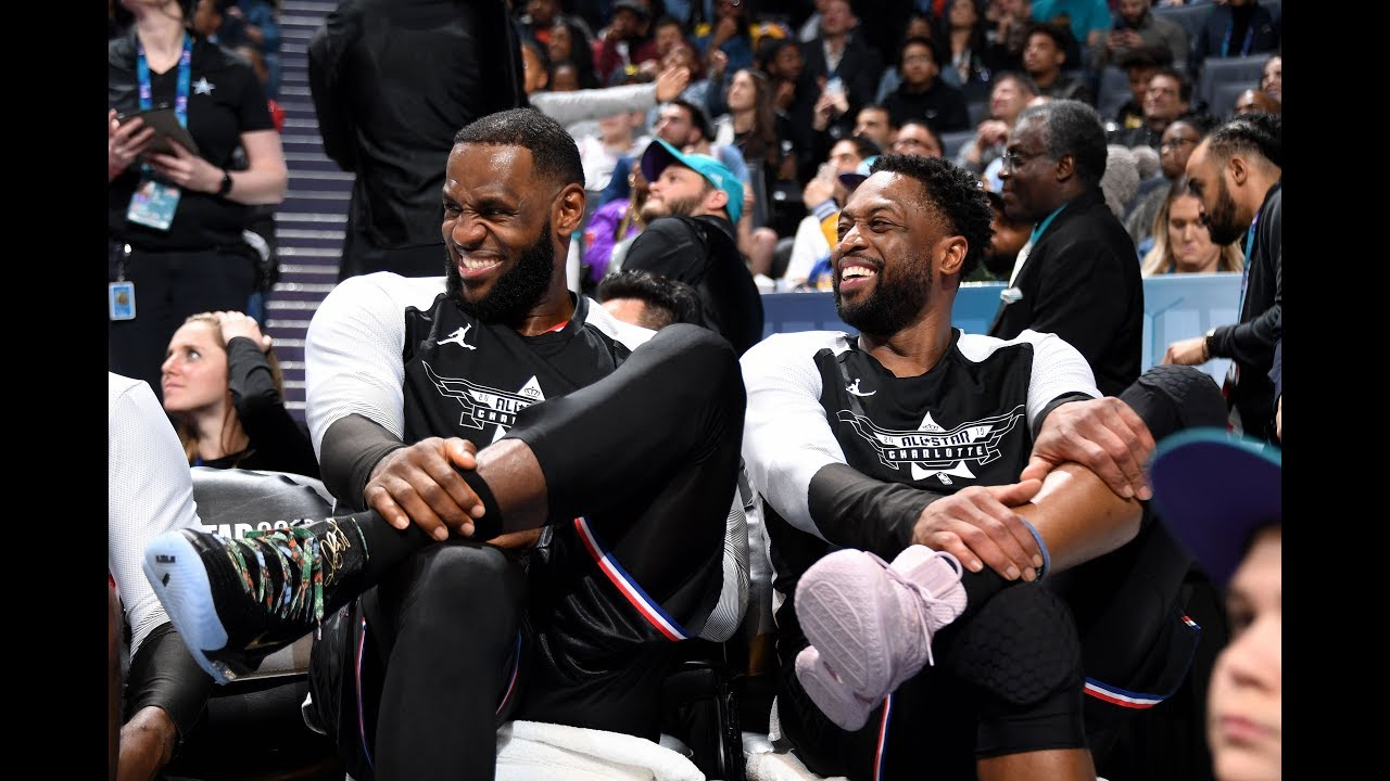 LeBron James All-Star Game Highlights - YouTube