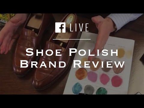 Shoe Polish Brand Review Choosing Shoe Polish Colors Youtube
