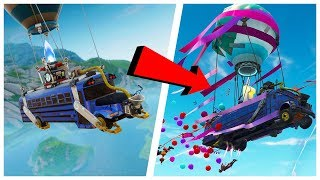 😂🚌 THE SECRETS OF THE NEW FORTNITE UPDATE! Funny moments #1