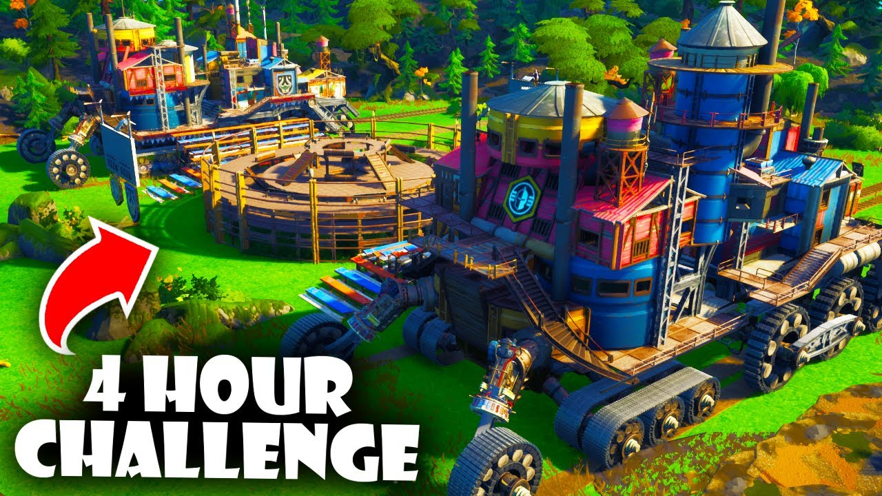 We Built a Mortal Engines 1v1 in 4 Hours in Fortnite Creative!