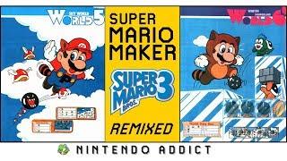 Super Mario Bros. 3 Remixed World 5 and 6   Super Mario Maker Complete Game