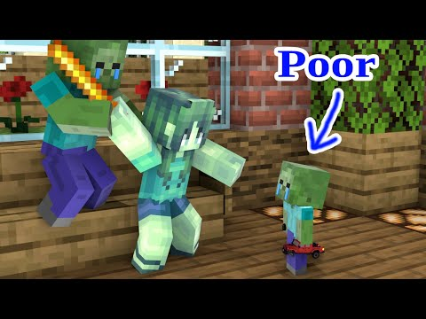 Monster School : What's Wrong With Baby Zombie ? - Sad Story - Minecraft Animation