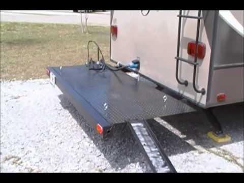 Motorcycle Carrier For 5th Wheel Rv 3 15 Youtube