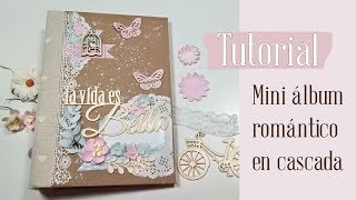 VIDEO TUTORIAL mini álbum romántico
