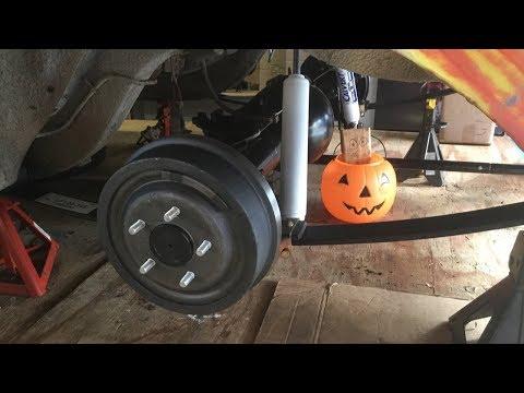 Mopar 8 3/4 Axle and Brake Installation
