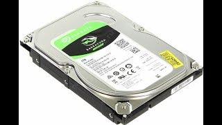 Купил новый жесткий диск Seagate 7200 BarraCuda 1 ТБ. Установка, продувка системника.