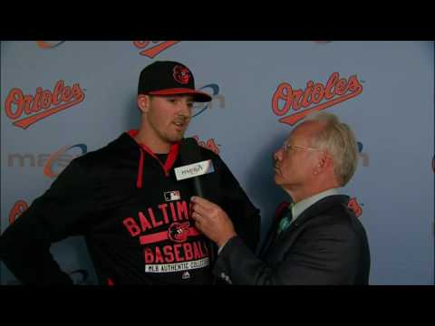 Kevin Gausman on his outing against the A's