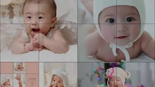 아주 오래전 동영상 제작과정 교육때 만들어 본 아기들의…