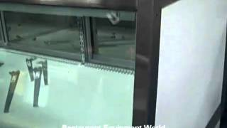 Used Federal 5942sc Refrigerated Display Case - Parts Only For Sale
