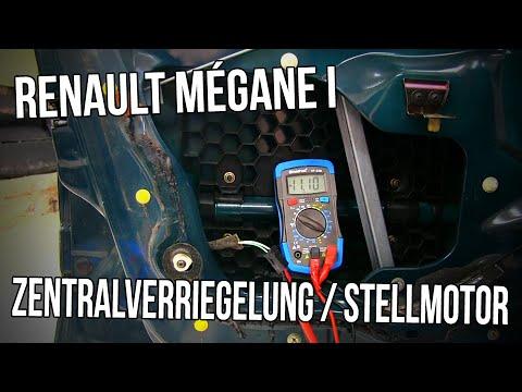 Fehler suche Renault Megane I - Zentralverriegelung / Stellmotor ...