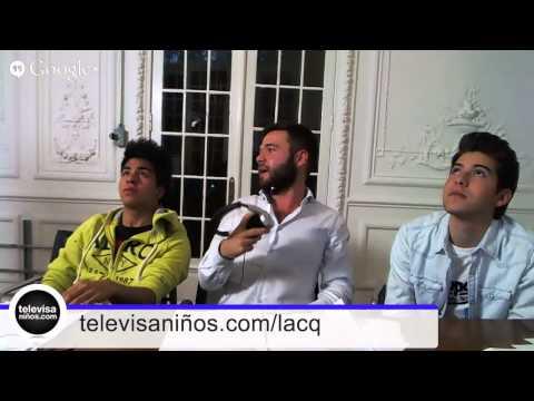 Hangout con Ángel y Roque de La CQ