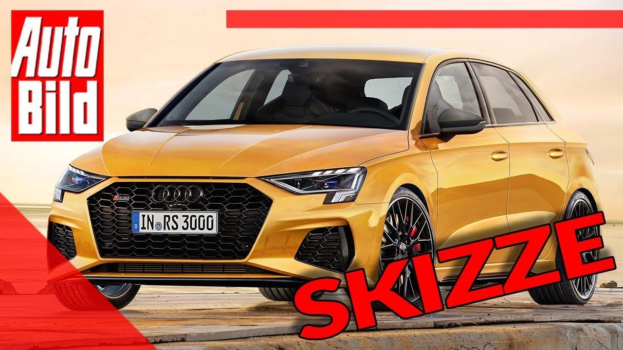 Audi Rs 3 2020 Neuvorstellung Skizze Infos