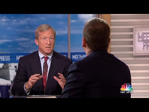 Full Steyer: 'I haven't decided to run for president' | Meet The Press | NBC News