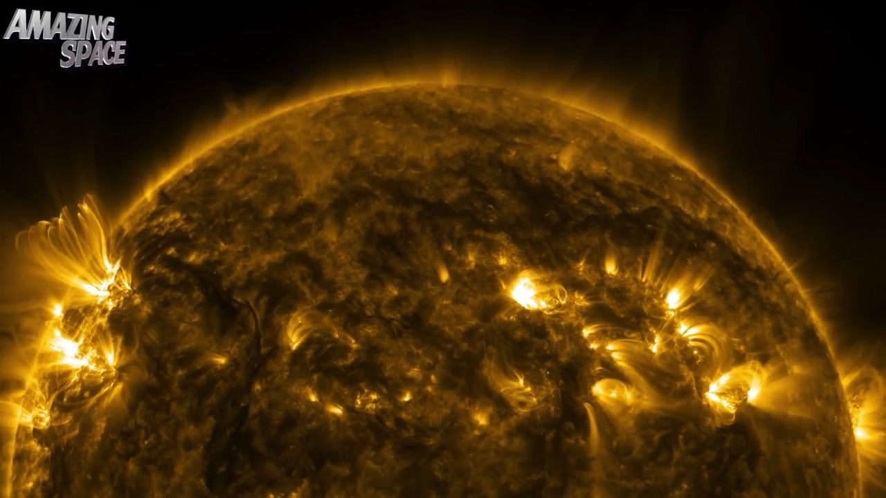 NASA |  Thermonuclear Art – The Sun In