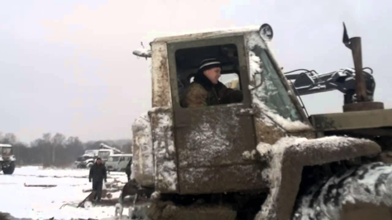 Ремонт трактора Т-150. - YouTube