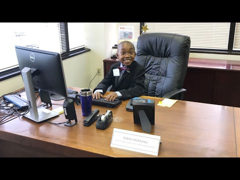 Nine-Year-Old Boy with Sickle Cell Anemia Became Make-A-Wish CEO for a Day