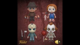 NEW FUNKO 5 STAR HORROR COLLECTION ANNOUNCED!