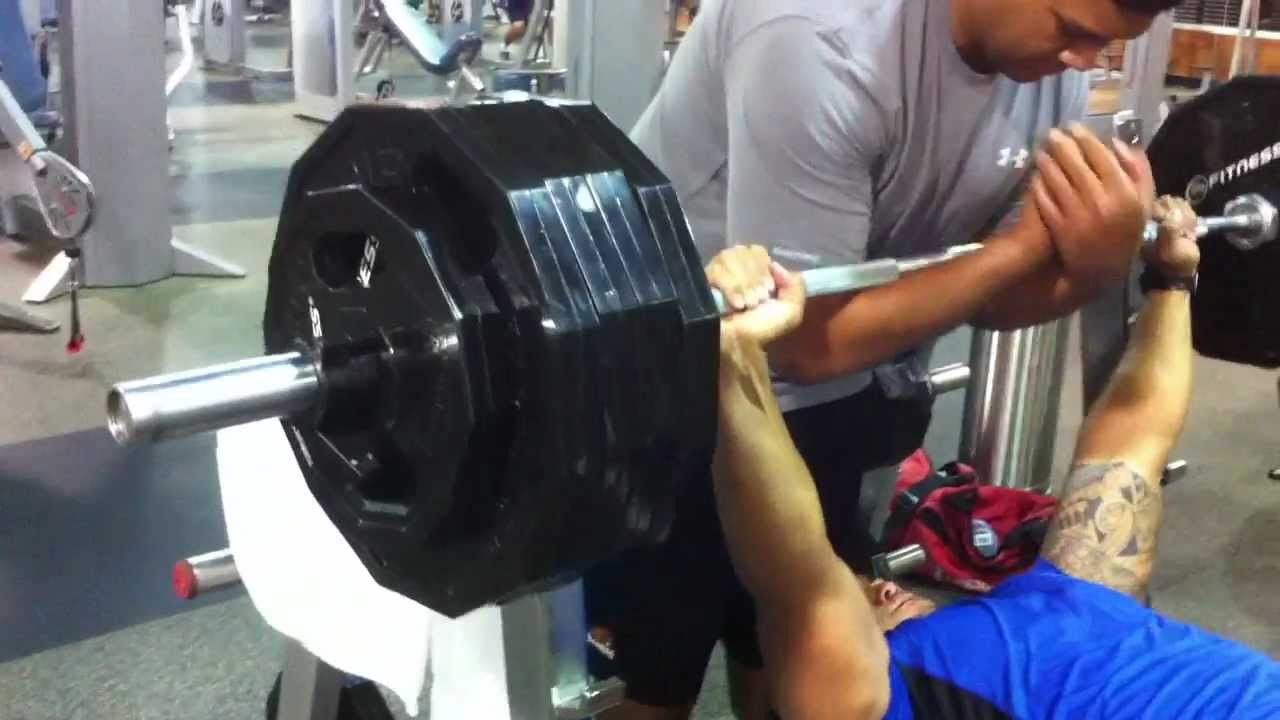 Stephen Paea Benching 455 Youtube