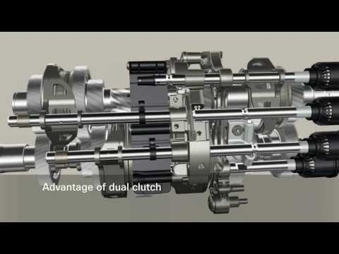 Фото к видео: ZF 7DT dual clutch transmission