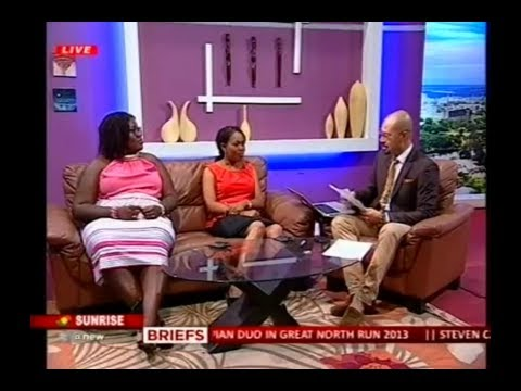 SpeakWell Interview on the Sunrise Show, TV3 - Accra Ghana