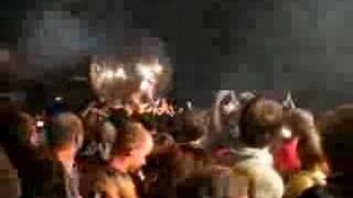 Wayne Coyne crowdsurfs in giant ball