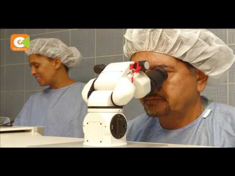 Patients seeking eye surgery flock Laser eye surgery clinic