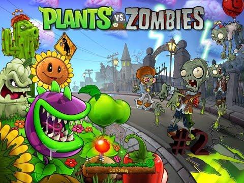 Секреты прохождения. Растения против Зомби 4 уровень.Туман/ Ночь - СУПЕР уровень! Plants vs. Zombies