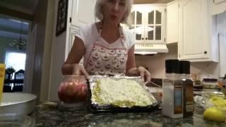 США ЗАПЕЧЕНАЯ КУРОЧКА ПОД АНАНАСОМ очень вкусное блюдо