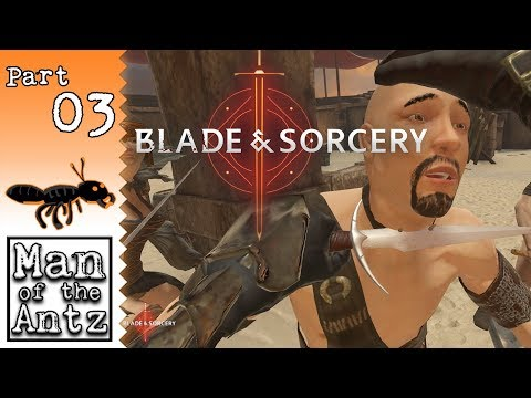 Cutting my way across The Arena | Blade & Sorcery VR on Oculus Rift - Part 3