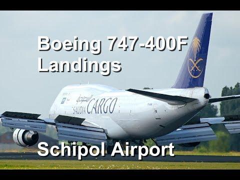 Saudia & NCA Cargo Boeing B747-400F Freighter @ Amsterdam Schipol Airport
