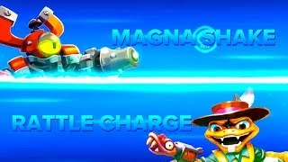 Skylanders Swap Force PVP - Magna Shake VS Rattle Charge