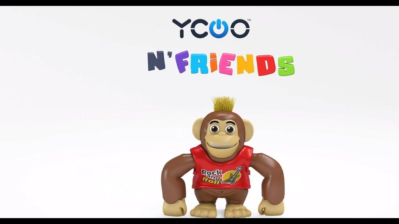 triés jouets singe Interactif Robot Ycoo Robot-Singe Chimpy